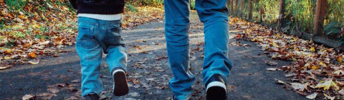 Õhtune jalutuskäik isaga
