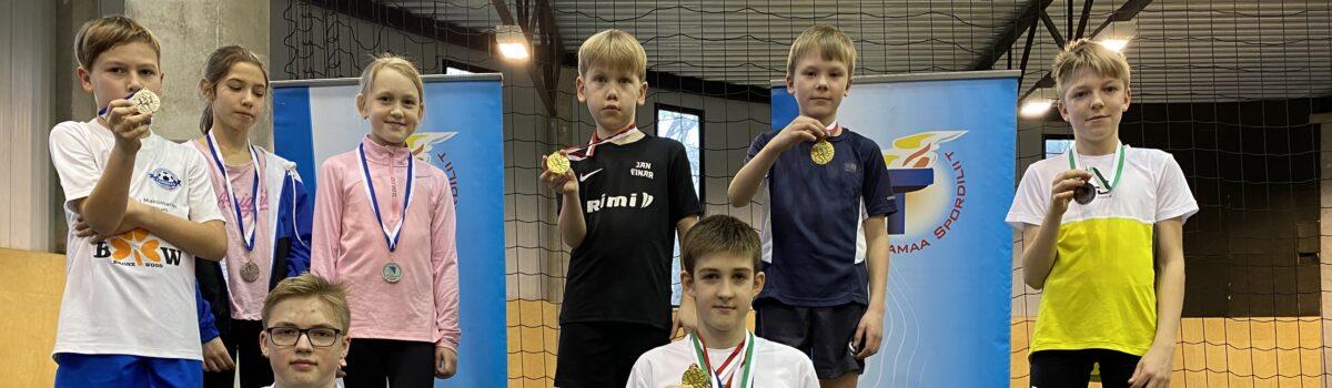 Medalisadu sisekergejõustiku võistlustel