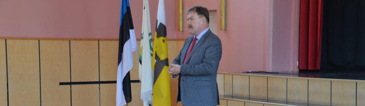 Külas riigikogulane Johannes Kert